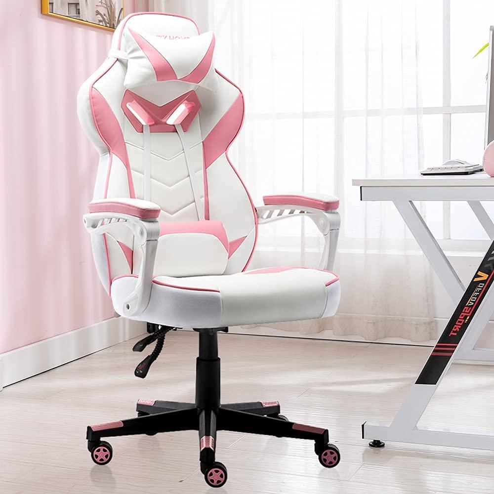 Bonzy Pink Gamer Chair