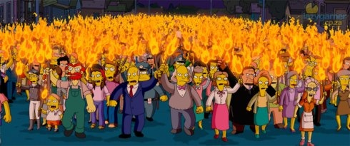 We are an angry mob...
